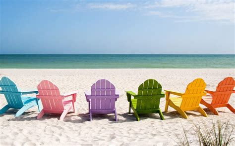 chaise longue plage 25 stunning summer wallpapers