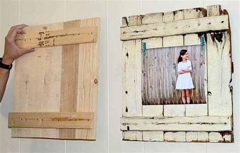 Flur Gestalten Diy by Rahmen Rustikal Holz Deko Flur Gestalten Inspiration