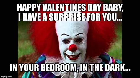 Happy Valentines Day Meme - i love clowns imgflip