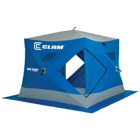 Clam Bigfoot Xl4000t Thermal 8' X 8' Popup 6angler Ice