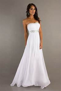 white prom dress with strapless neckline elite wedding looks With white cocktail dress for wedding