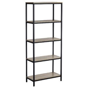 Industrial Style Bookcase by Industrial Style Chunky Four Shelf Bookcase
