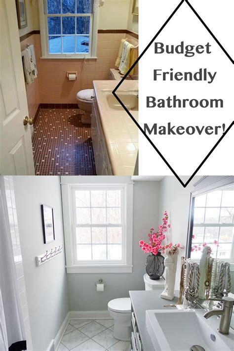 Small Bathroom Ideas On A Budget Uk by Budget Friendly Bathroom Makeover The Styled With