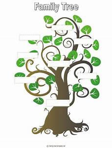 blank family tree template for kids activity day ideas With blank family tree template for kids