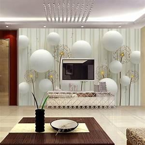 beibehang Custom Mural European Stereo 3D Wallpaper Living ...