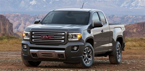 Gmc Canyon  Coloradobased Midsize Pickup Revealed