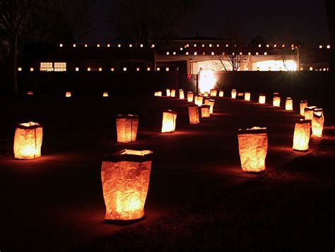christmas luminary lights cat proof candlelight with ceramic luminaries clayworks