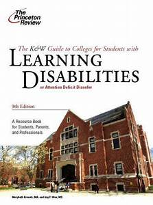 K  U0026 W Guide To Colleges For Students With Learning Disabilities  9th Edition  C