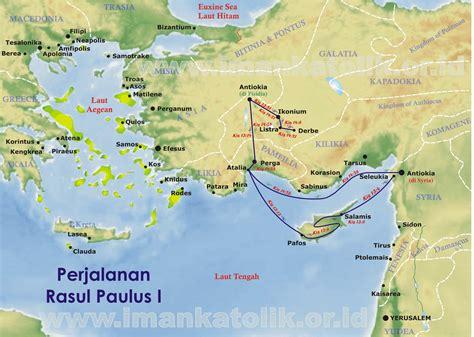 Jual Cytotec 6 Bulan Data Hakekat Peta Perjalanan Rasul Paulus