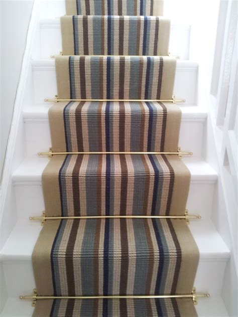 carpet on stairs stair runner carpet fitting to straight stairs with stair rods stair runners in uk and ireland