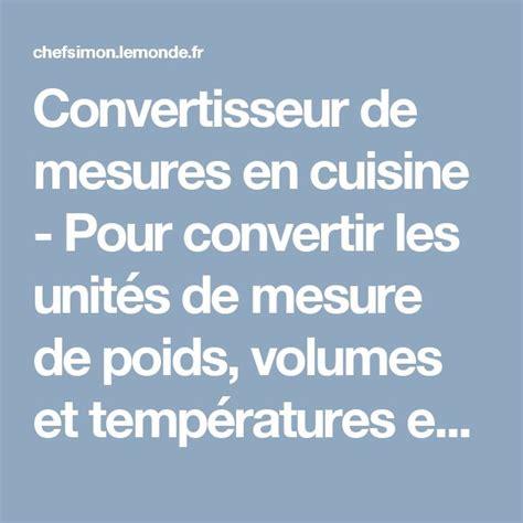 convertisseur de cuisine 17 meilleures idées à propos de tableau de conversion de
