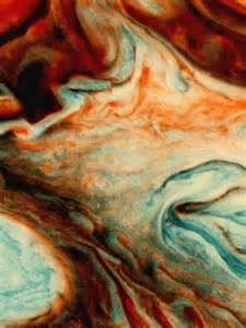 Swirling Clouds On Jupiter