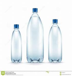 Bouteille En Plastique Vide : bouteille d 39 eau bleue en plastique vide de vecteur d 39 isolement illustration de vecteur image ~ Dallasstarsshop.com Idées de Décoration
