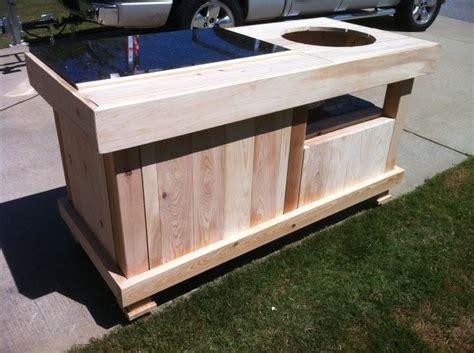 big green egg table plans with doors 35 best images about grillin on pinterest ceramic cooker