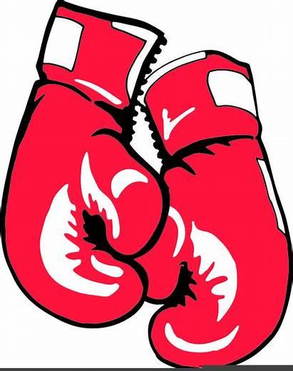Clipart Boxing Gloves Boxer Clip Vector Clker