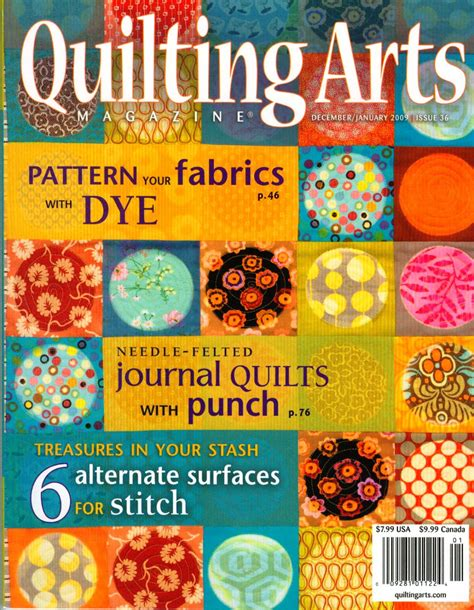 quilting arts magazine quilting arts magazine 2009 back issue 36 collectible