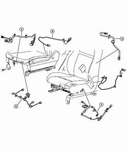 2010 Chrysler 300 Wiring  Seat  Power  Heat  Adjustable