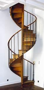Escalier En Colimaçon : escalier colimacon bois ancien ~ Mglfilm.com Idées de Décoration