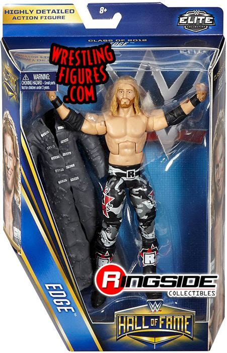 edge wwe hall  fame class   wwe toy wrestling