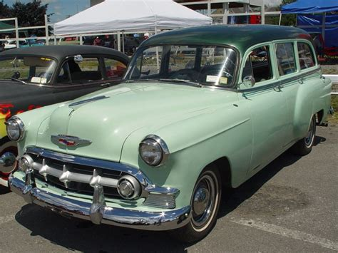 green station wagon 53 chevy had a surf wagon just like this when i was in