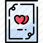 Premium Certificate Marriage Icon Icons