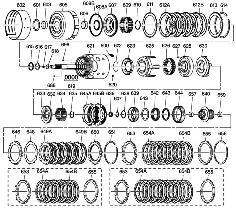 2004 trailblazer 4l60e transmission if you can give me a diagram and tell me where and how