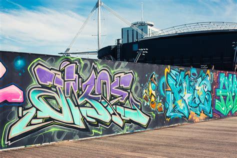 Graffiti Wall : Rip Cardiff's Millennium Walk Graffiti Wall