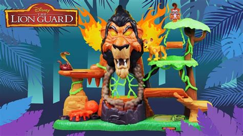 Disney Junior The Lion Guard Rise Of Scar Playset W