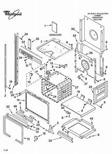Whirlpool Built  Microwave Parts