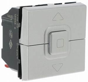 Interrupteur Volet Roulant : bouton poussoir pour volets roulants legrand mosaic aluminiu ~ Melissatoandfro.com Idées de Décoration