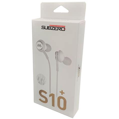 S10+ Mikrofonlu Kulaklık Subzero EP42 (Beyaz) - TeknoTok