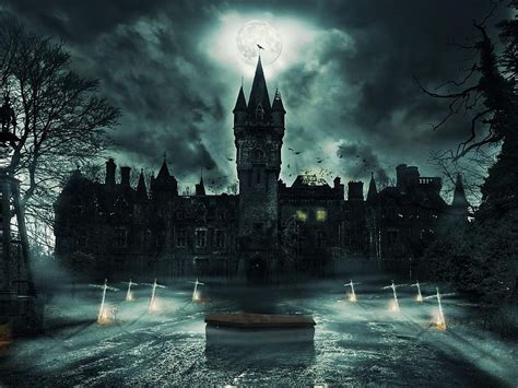 Dark Castle Free Desktop Backgrounds And Wallpapers