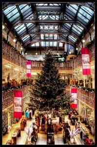 edinburgh photo the 2012 christmas tree in jenners house of fraser edinburgh spotlight