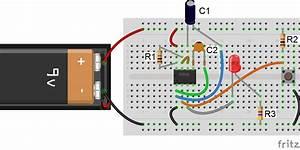 Circuit Diagram 555 Timer Monostable
