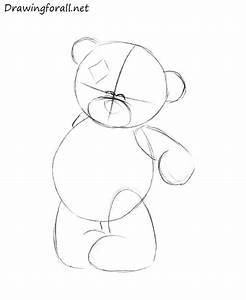 How to Draw a Teddy Bear   DrawingForAll.net