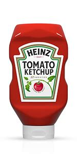 Amazon.com : Heinz Tomato Ketchup, No Sugar Added (13 oz ...