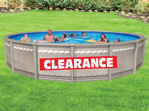 Clearance Pools  From $199  Island Recreational Swimming