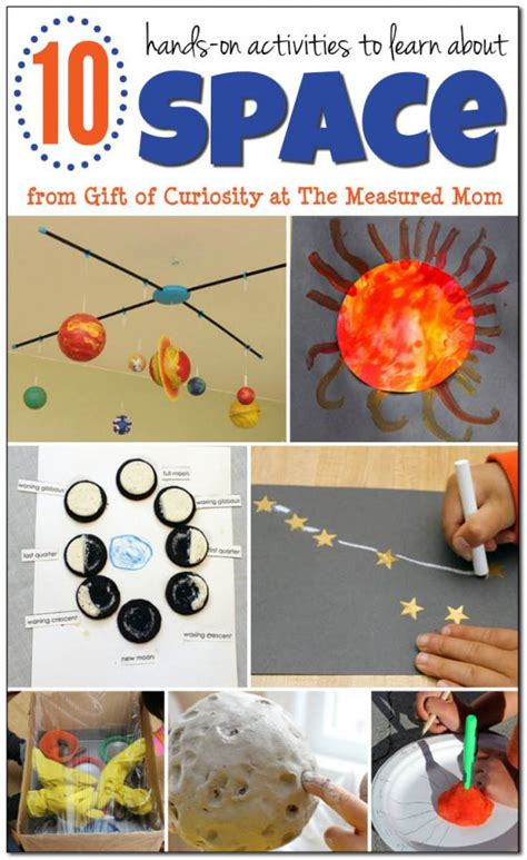 fun space activities  kids  measured mom