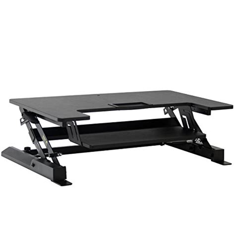 height adjustable standing desk riser best choice products height adjustable standing desk dual