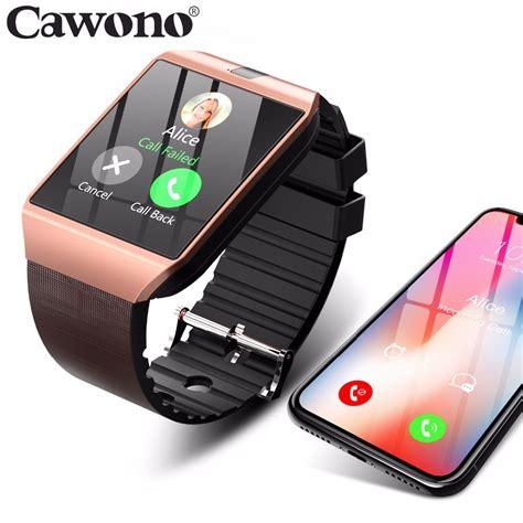 cawono dz smartwatch bluetooth smart  relogio