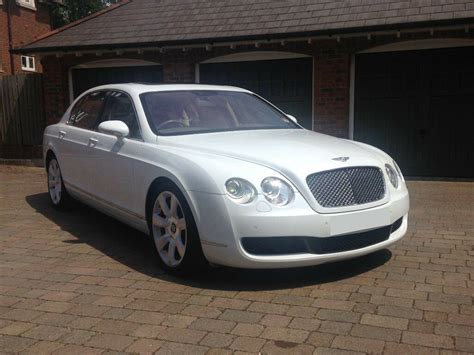 White Bentley Cars by White Bentley Continental Flying Spur Wedding Car Hire