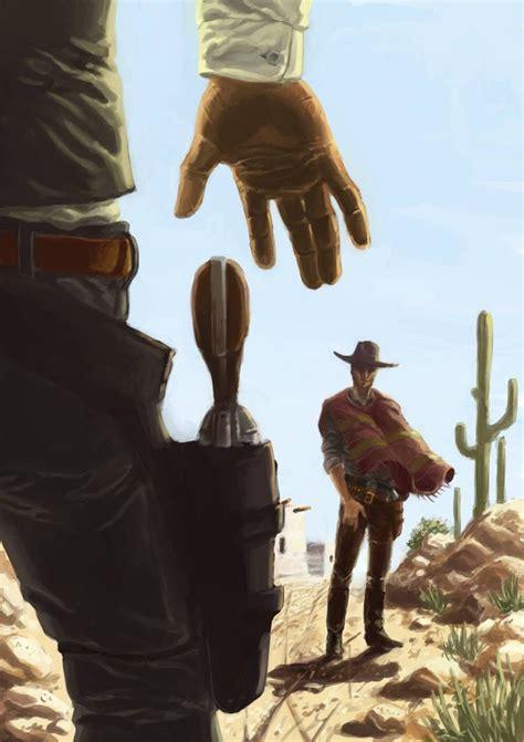 gunslingers  mrharp western artwork cowboy pictures