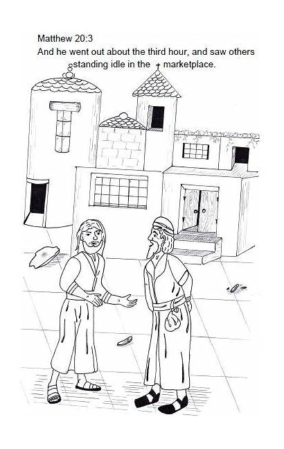 Vineyard Parable Matthew Bible Workers Sunday Lesson