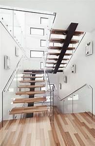 Escaliers en bois intérieur et extérieur idées sur les designs