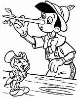 Pinocchio Coloring Pages Cricket Jiminy Nose Printable Long Disney Face Template Colouring Christmas Craft Colour Print Adults Cartoon Getcolorings Getcoloringpages sketch template