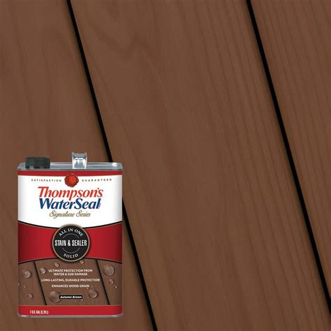 thompsons waterseal pre tinted autumn brown solid