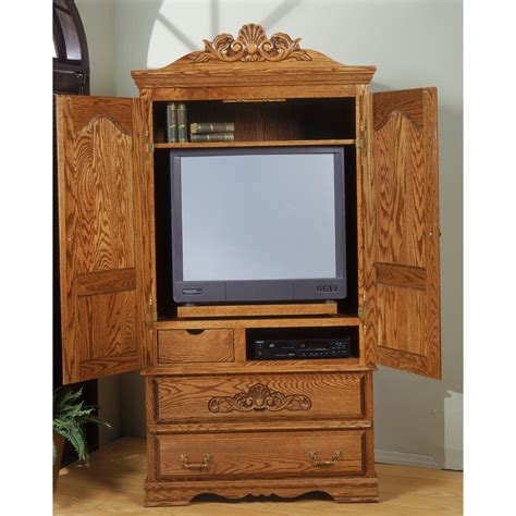 Armoire For Tv With Doors by Bebe Furniture Country Heirloom Large Tv Armoire With