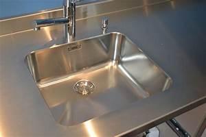 Plan Travail Inox Prix : plan de travail en zinc alimentaire le zinc pour un ~ Edinachiropracticcenter.com Idées de Décoration