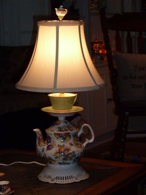 images  teapot lamps  pinterest vintage