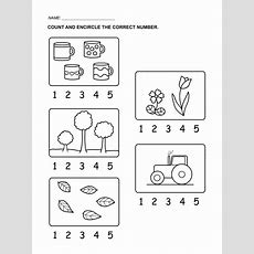 Worksheet For Numbers  Kiddo Shelter